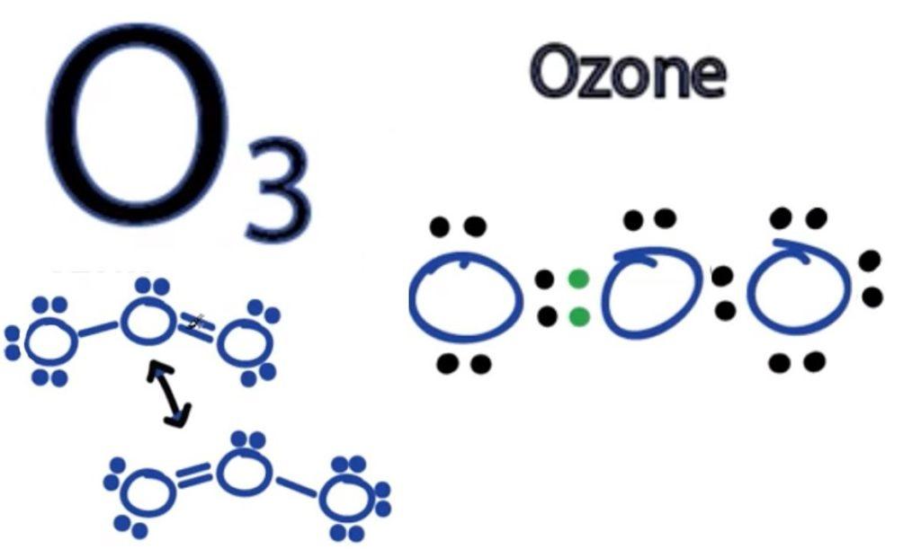 O3 molecular geometry
