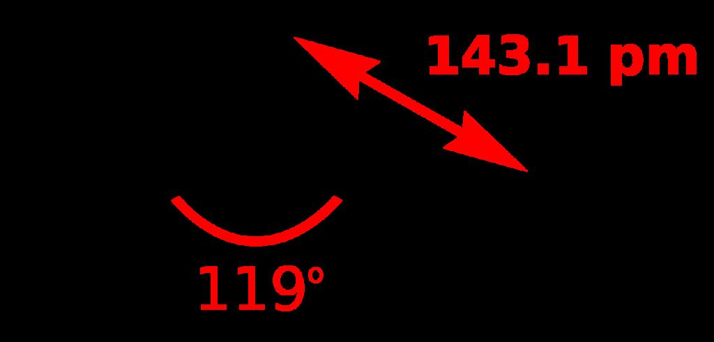 SO2 bond angle