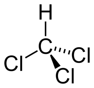 chloroform CHCl3