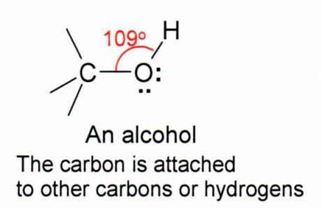 ethanol-bond angle