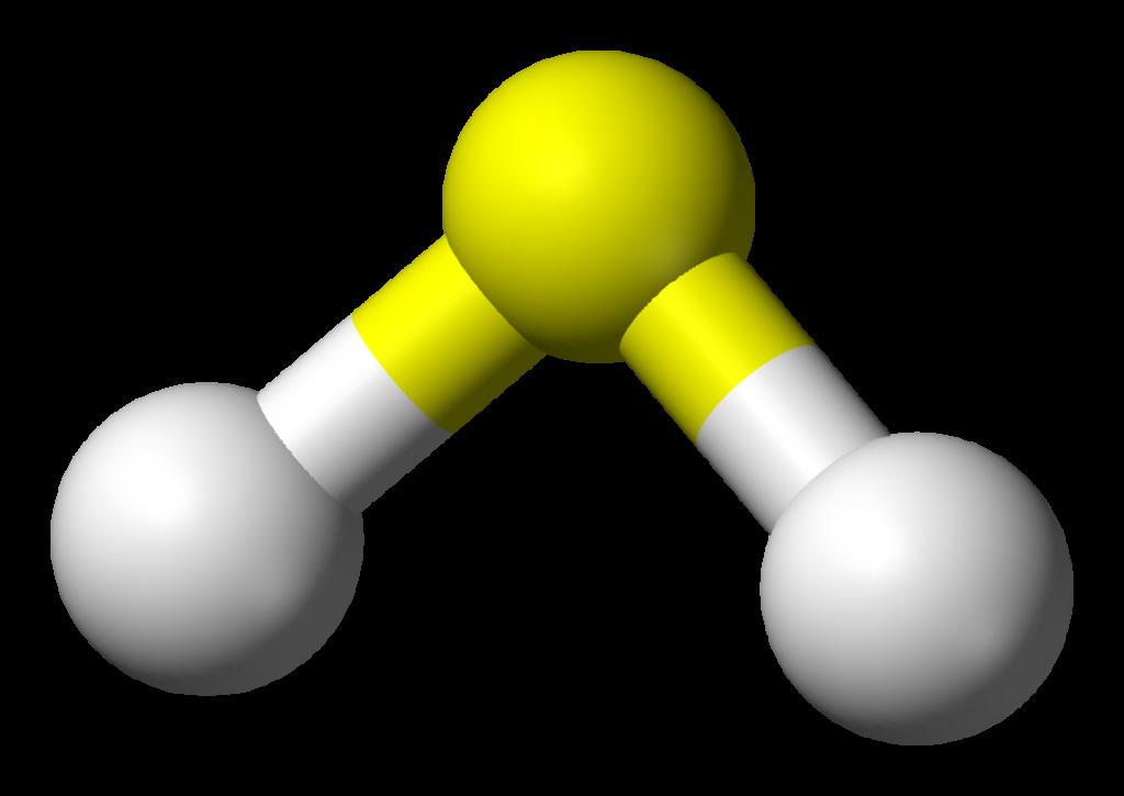 Hydrogen-sulfide-3D-balls