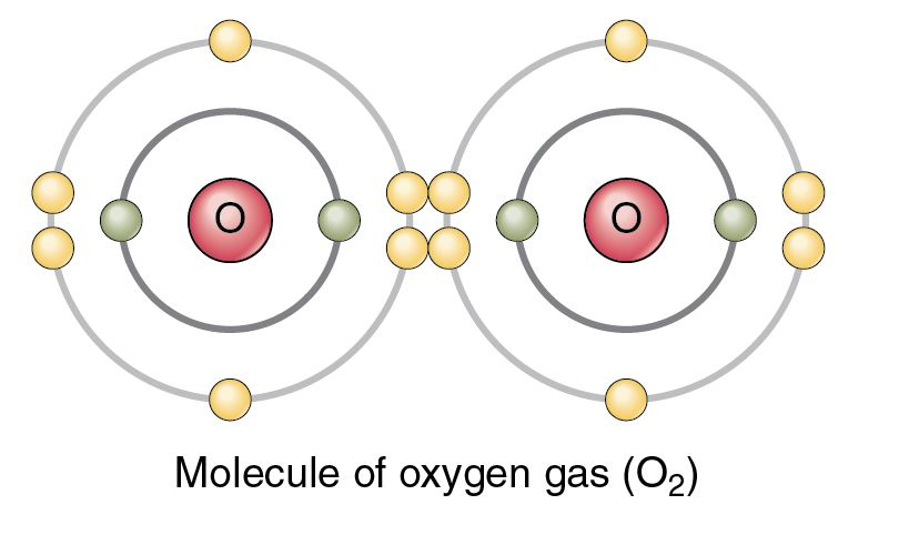 O2 covalent bonding