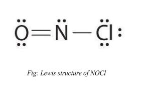 lewis structure of NOCl