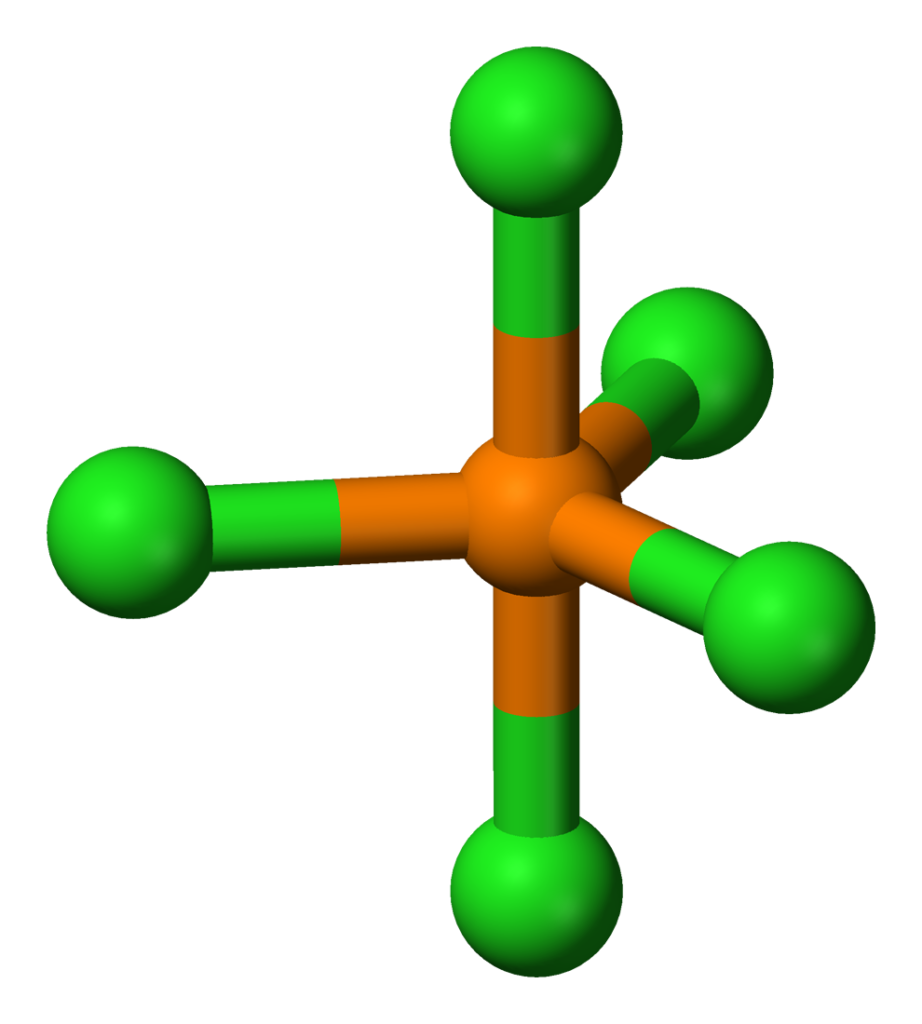 PCl5 geometry