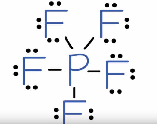 PF5 lewis structure