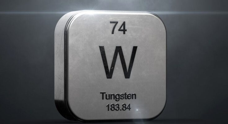 is tungsten magnetic