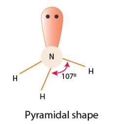 NH3 geometry