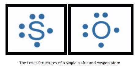 S and O lewis structure