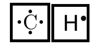 lewis structure of C and H