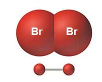 Br2 geometrical shape