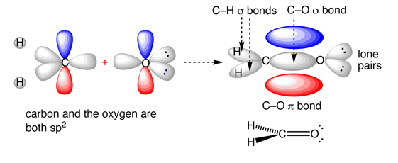 ch2o hybridization