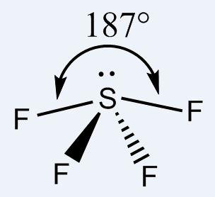 SF4 shape