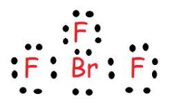BrF3 electronic diagram