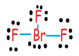 BrF3 electronic structure