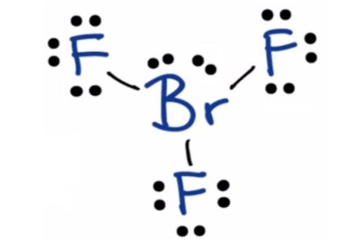 BrF3 lewis structure