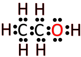 C2H5OH lewis structure
