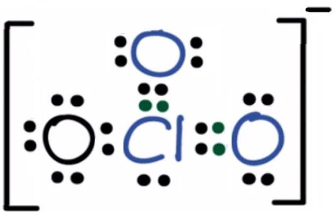 ClO3- lewis structure