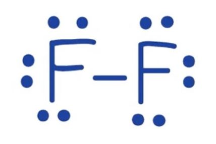 F2 lewis structure