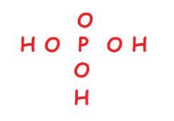 H3PO4 atoms