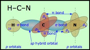 HCN hybridization