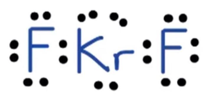 KrF2 Lewis Structure