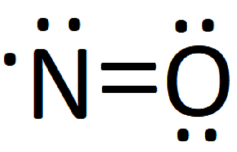NO electron dot structure