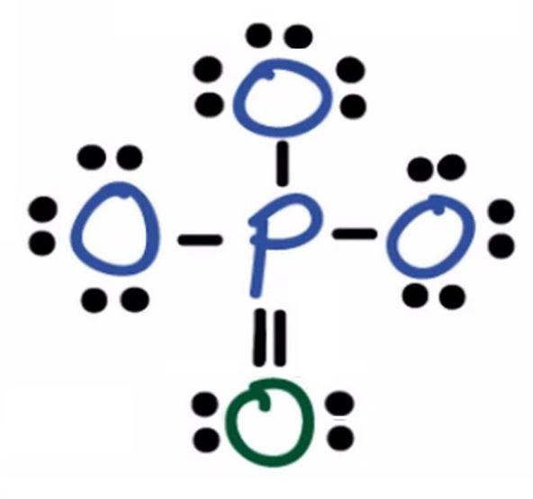 PO43 lewis structure
