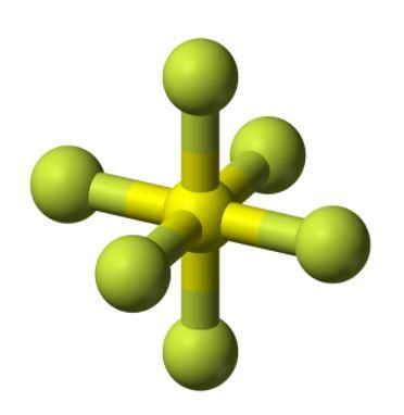 SF6 geometry