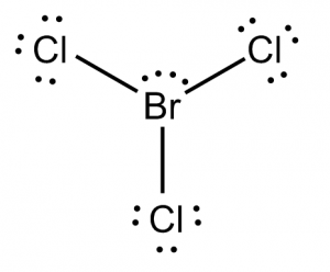 BrCl3 Lewis Structure