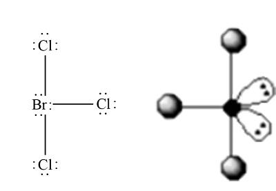 BrCl3 Geometry