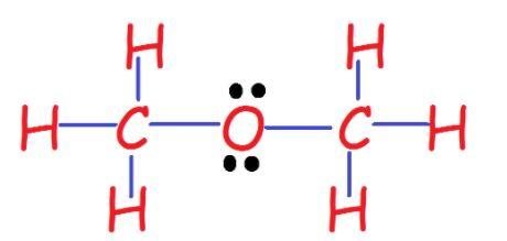 CH3OCH3 lewis structure