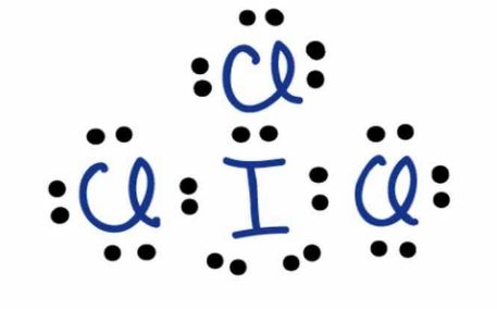 ICl3 Lewis structure