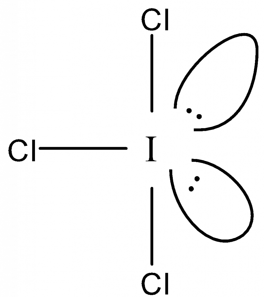 ICl3 geometry
