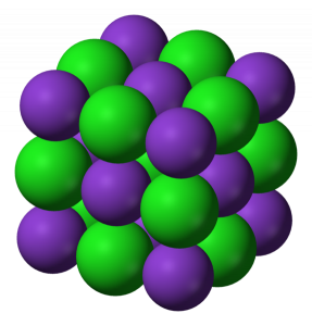 KCl geometry