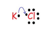 KCl valence electrons