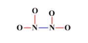 N2O4 atoms