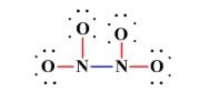 N2O4 valence electrons