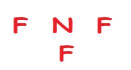 NF3 atoms