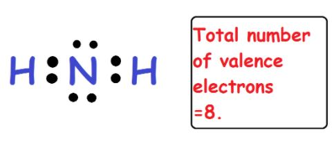 NH2 valence electrons