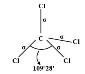 CCl4 Geometry