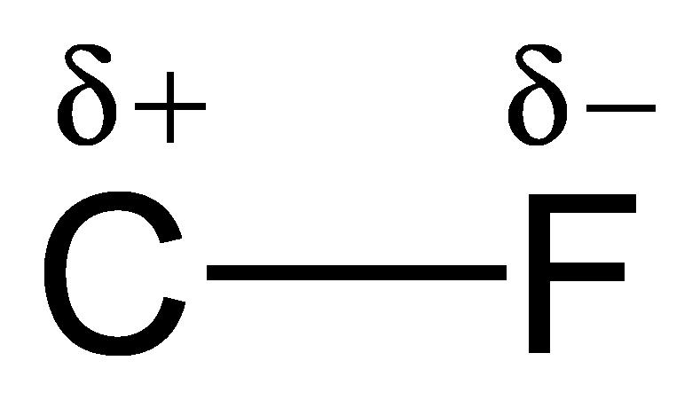 CF bond polarity