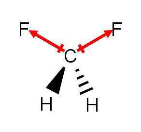 CH2F2 polarity