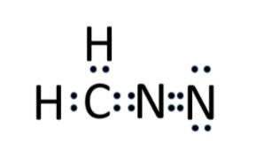 CH2N2 lewis structure