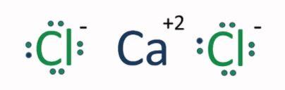 CaCl2 ionic bond