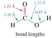 HCOOH bond length