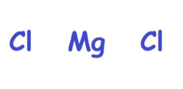 MgCl2 atoms