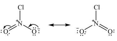 NO2Cl resonance structure