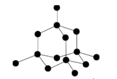 Diamond Lattice structure