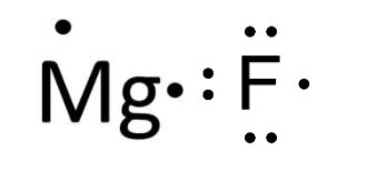 Mg and Br valence electrons
