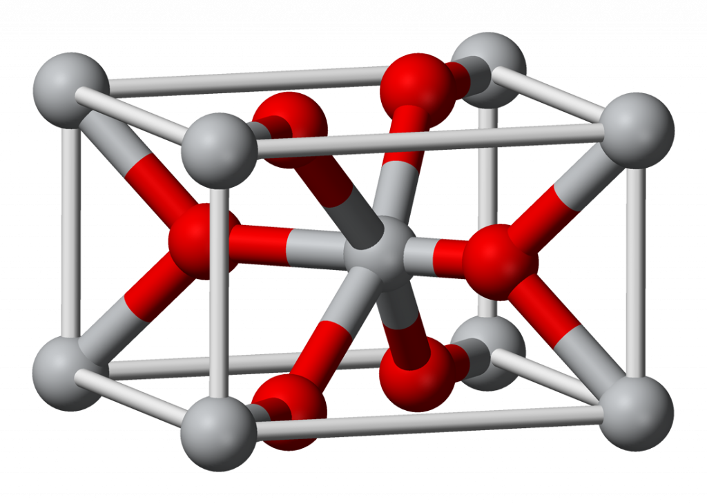 MgF2 lattice Structure